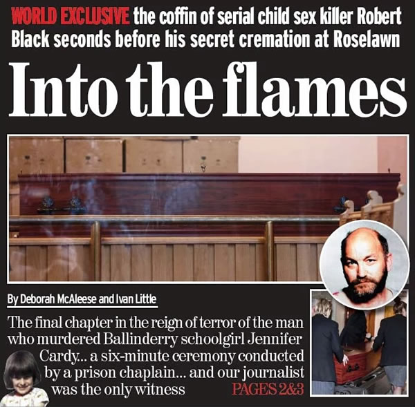 Into the flames news clip